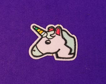 Unicorn patch / kawaii patch / anime patches / sew on patch / iron on patch
