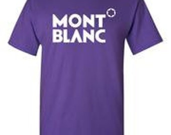 Montblanc lila T-Shirt