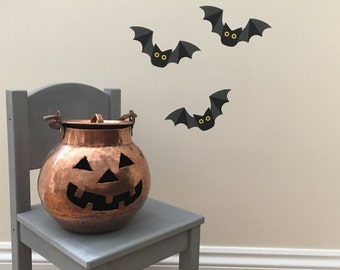 Halloween bat wall stickers - Bat decals - Bats - Bat Art - Superhero Bat - Boys Room - Bats - Halloween Bat - Bat Wall Art - Bat Decoration