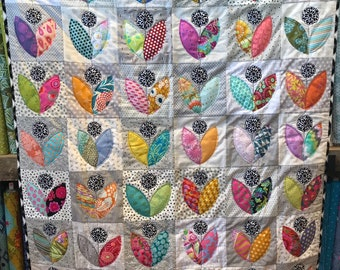 Petal Pushers Quilt Kit - Made in house