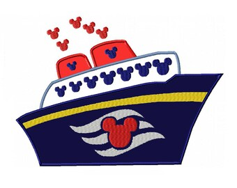 disney cruise ship etsy rh etsy com disney cruise clip art free disney cruise clip art free