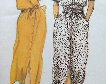 Vintage Dress Sewing Pattern McCalls 6579 Size 8