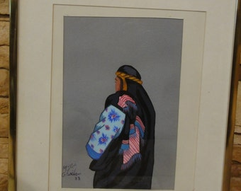 Vintage 1988 Signed Painting