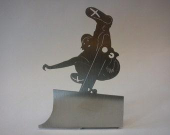 """skateboarder - """"half pipe"""" decorative object for the desktop"""