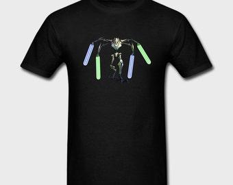 Mens T-shirt General Grievous Star Wars