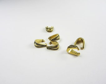 20 Gold Tierracast Royal Pinch Bails