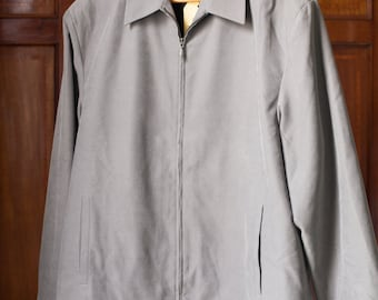 40s/50s style grey swing jacket - Large