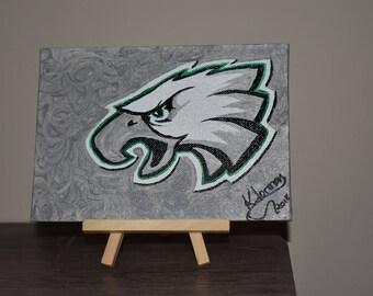 Philadelphia eagles painting
