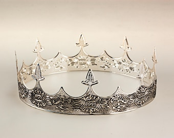 Medieval Silver Crown, Royal Highness Crown