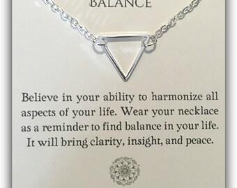 Balance Pendant Necklace