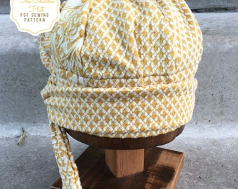Hat Sewing Pattern, The Charlie Hat, Instant Download PDF Sewing Pattern, Fits all sizes hat