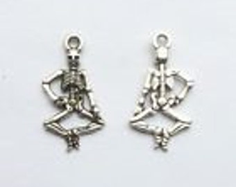 Silver Charms Dancing Skeleton Curtsy x15