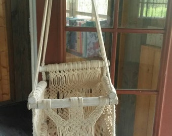 a at activities swing hanging macrame how make to home chair my kids