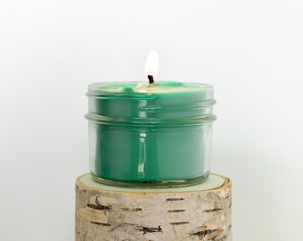 Ocean Breeze Candle || Hand Poured || Organic Soy Candle // 4 oz. Jar