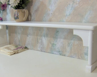 Over the sink shelf for plants extra area solid wood pine made in the USA