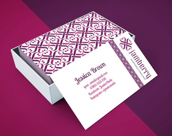 Vistaprint etsy jamberry business card for vistaprint or printing at home 1 2 days personalisation reheart Choice Image