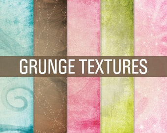 80% OFF SALE Grunge Digital Paper, Grunge Papers, Grunge Textures, Digital Paper, Grunge Overlays, Digital Paper Pack, Textured Papers