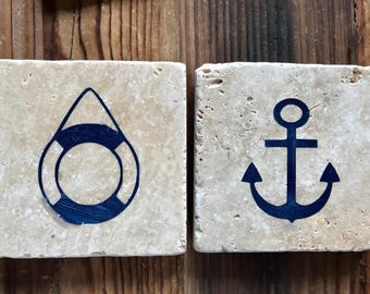Nautical Coasters (set of 6)