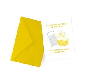 Cheesy Dad Pun Card