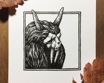 Inktober Creature | Day 31 | Original Drawing
