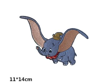 Disney Classic Dumbo Disney embroidery iron on patch sew on patch 14*11cm  A181
