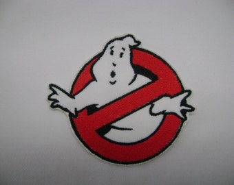 Ghostbusters Embroidered Patch Badge Iron on or sew