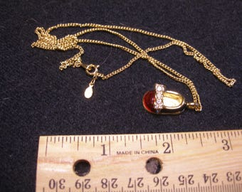JOAN RIVERS Baby Shoe Necklace(822)