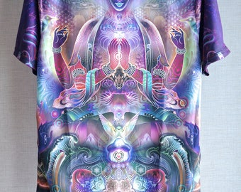 Threyda Sky Diamonds T-Shirt Art By Mugwort