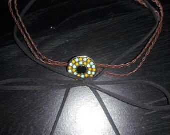 Braided bow choker
