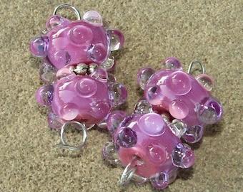 BHG  Pink orchid waterdrop pair