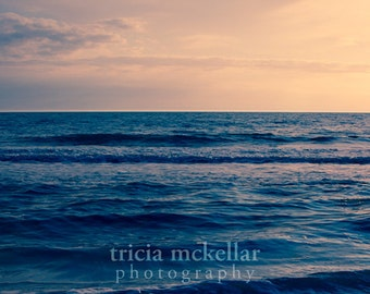Large Print, Ocean Photograph, 30x45 Fine Art Photography Print by Tricia McKellar, Call Me Home No. 1303-8953