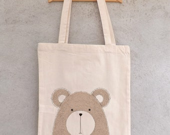 "Tote Bag ""Little bear"" - shopping bag"