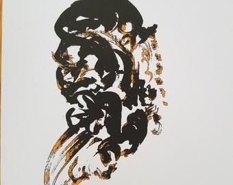 Silhouette Print