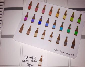 Beer Planner Stickers