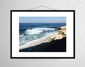Rock Meets Water | West Coast | Pacific Ocean | Photography Print