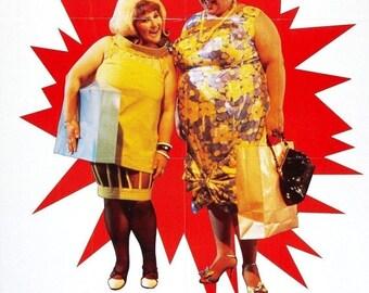Spring Sales Event: HAIRSPRAY Movie Poster John Waters John Travolta