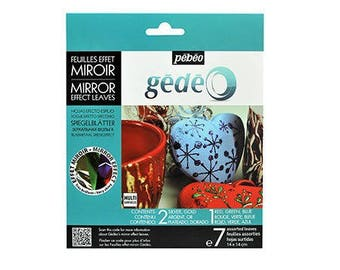 Set 7 leaves mirrored - Pebeo - Ref 766580 (great Christmas) - while stock last!