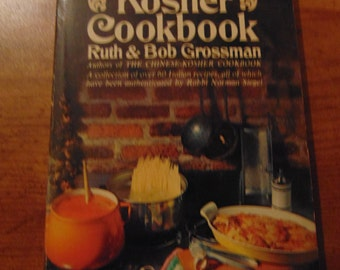 Italian Kosher Cookbook  1970  Ruth and Bob Grossman  Paperback