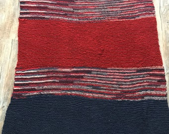 Knitted Throw Blanket