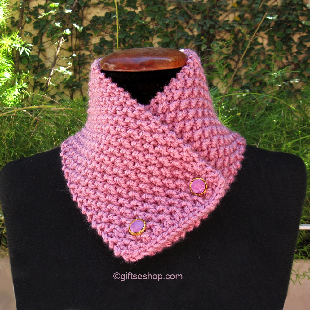 Knit scarf pattern cowl knitting pattern button scarf zoom bankloansurffo Choice Image