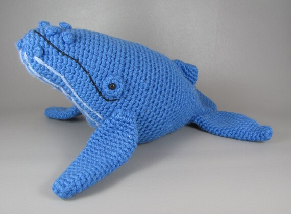 Free Crochet Amigurumi Whale Patterns : Humpback whale pdf amigurumi crochet pattern