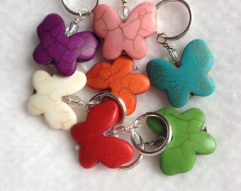 Butterfly Stitch Markers - Set of 7