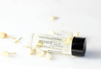 Jasmine perfume SAMPLE | Floral Perfume | 100% natural and vegan