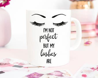 eyelashes mug, eyelash mug, eyebrow mug,