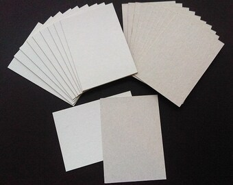ATC ACEO Blanks for Collage Artist Trading Cards - Set of 30