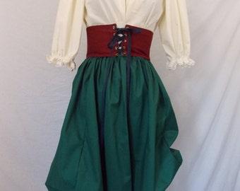 Ladies/Girls Renaissance With Bustled Skirt