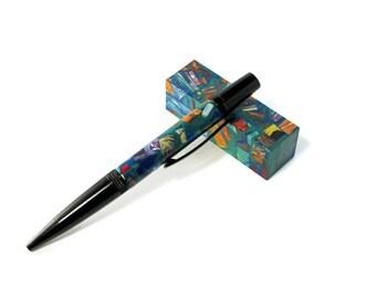 Color Explosion Mosaic Twist Pen