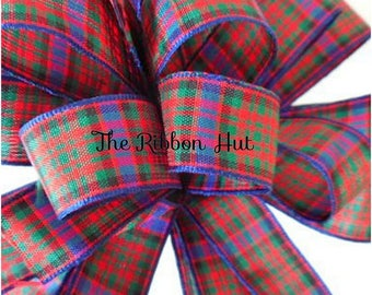 MacDonald Tartan (not available in 70 mm) - 2mtrs and 5mtrs Cut Lengths - 7mm,10mm,16mm,25mm and 40mm - FREE UK POSTAGE