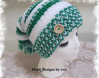 Knit Stocking Cap ~ Handmade in USA ~ Size for child/teen ~