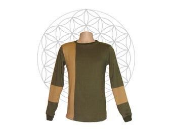Mens Handmade Organic Cotton and Hemp Shirt - Custom made to order